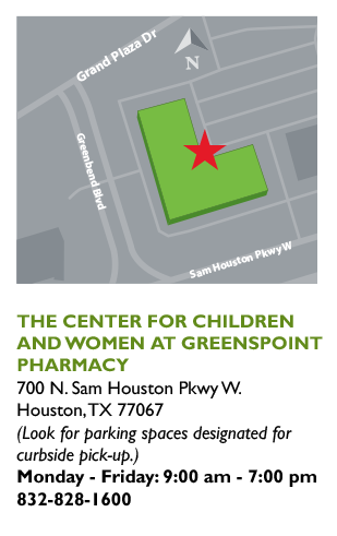 Pharmacy Pickup - The Center Greenspoint